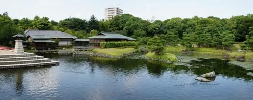 愛知 名古屋 紅葉 白鳥庭園