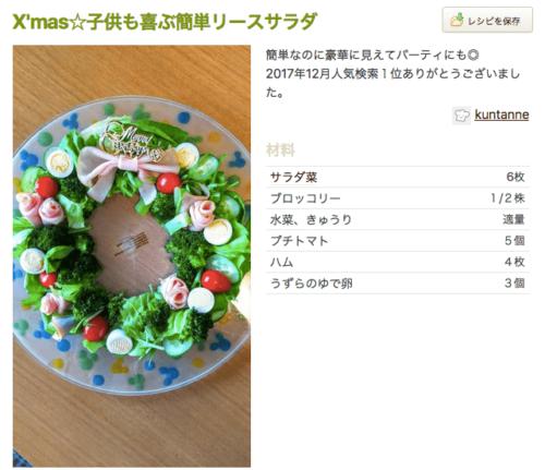 クリスマス 名古屋 サラダ