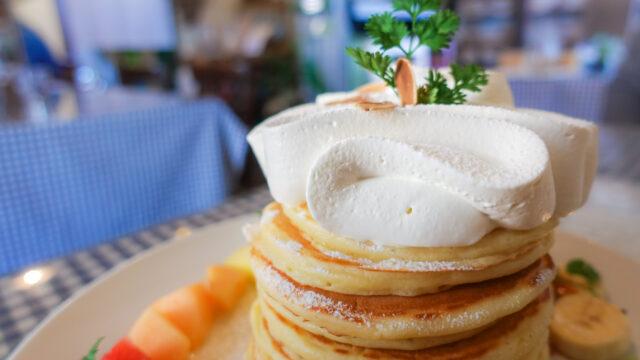 Sweets+Kitchens ARI3のパンケーキ上部
