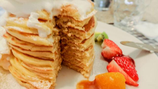 Sweets+Kitchens ARI3のパンケーキ断面