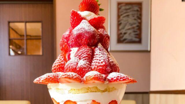 パティスリーロアジスの苺パフェ2