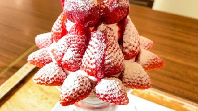 パティスリーロアジスの苺パフェ1